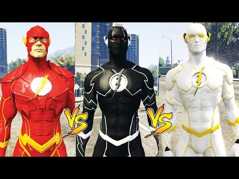 FLASH Vs ZOOM Vs GOD SPEED (Epic Battle)