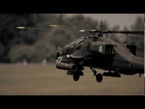 radio controlled - This blew me away! I'm way more into airplanes than helicopters, but this Apache AH-64A from IndyHelis.com was unbelievable! The video was shot with a JVC GY...