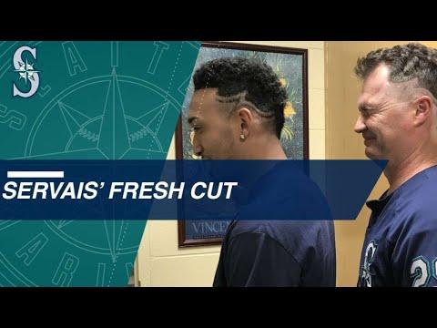Scott Servais gets haircut for Edwin Diaz' 50th save