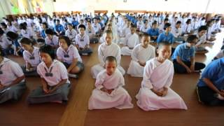 TM at Dhammajarinee School in Northern Thailand | David Lynch Foundation