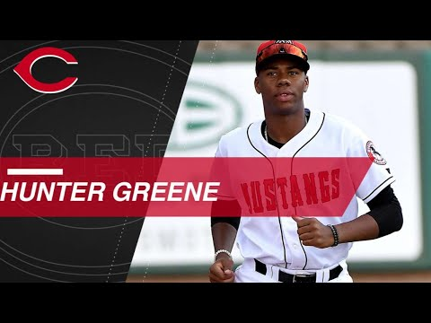 Video: Top Prospects: Hunter Greene, RHP, Reds