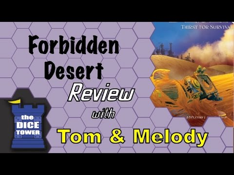 'Forbidden Desert', the Fun, Cooperative Board Game, is Coming to Mobile