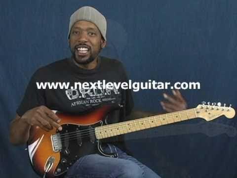 Learn Blues guitar rhythms & Licks lesson Howlin Wolf Buddy Guy style