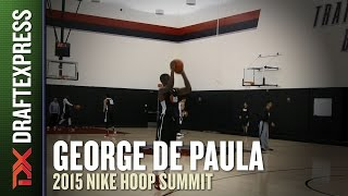 George Lucas de Paula - 2015 Nike Hoop Summit - Shooting Drills