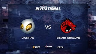 dignitas vs Binary Dragons, map 1 cache, SL i-League Invitational Shanghai 2017 EU Qualifier