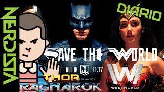 Trailer de Thor Ragnarok (Legendado) https://www.youtube.com/watch?v=UvNnqWLruXA&t=5sTrailer de Liga da Justiça (Legendado) https://www.youtube.com/watch?v=r1z0T2Dnj70Trailer de Stranger Things (Legendado) https://www.youtube.com/watch?v=21z5QowrEDgTrailer de Defensores (legendado) https://www.youtube.com/watch?v=ciGaGi14K7wTrailer de Star Trek Discovery (Legendado) https://www.youtube.com/watch?v=aSK8owZEbDkTrailer de Jogador Número 1 (Legendado) https://www.youtube.com/watch?v=8ITWL7okZtYTrailer de Westworld - Temporada 2 https://www.youtube.com/watch?v=zFyPSc3aqXMTODAS AS NOTÍCIAS NO STORIES DO INSTAGRAM@canalnerdistaAjude a tornar esse vídeo mais acessível, faça legendas em Português para nos ajudar se não puder ajudar com dindin ;)http://www.youtube.com/timedtext_cs_panel?c=UCttJAQLmyMIjj9VtW44X-tg&tab=2Site: http://www.nerdista.com.br/Facebook: http://www.facebook.com/nerdistaTwitter: http://twitter.com/canalnerdistaInstagram: http://instagram.com/canalnerdista
