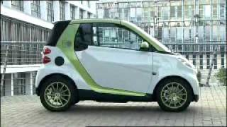 Mercedes-Benz; Paris Motor Show 2010; Smart Fortwo Electric Drive
