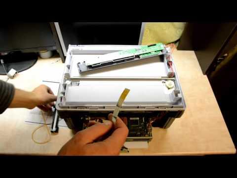 Сканер ремонт своими руками