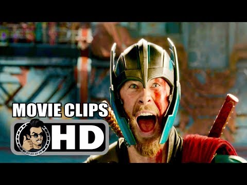 THOR: RAGNAROK - 3 Movie Clips + Trailer (2017) Chris Hemsworth Marvel Superhero Movie HD