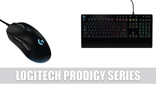 Logitech announces a new gaming series, which includes the G213 Prodigy Gaming RGB keyboard, the G231 Prodigy Gaming...