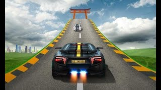 Impossible Car Track Stunt game || Car Racing game