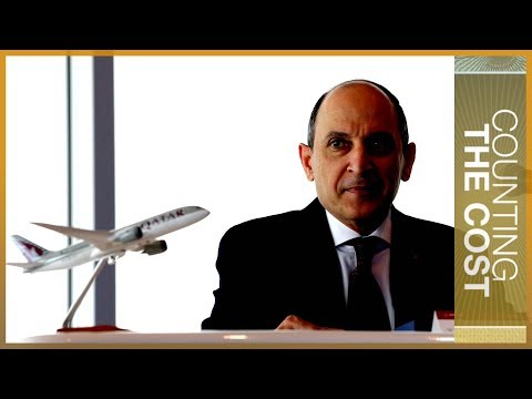 🇶🇦 Qatar Airways CEO Akbar al-Baker: The blockade did impact us | Counting the Cost