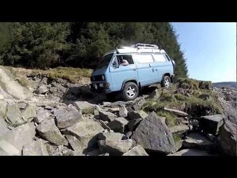 VW T3 T25 Vanagon Syncro Strata Florida Greenlane 4x4 Weekend