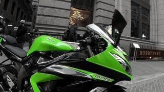 4. 2013 Kawasaki Ninja ZX-6R 636 DETAILED feature overview with some rolling shots