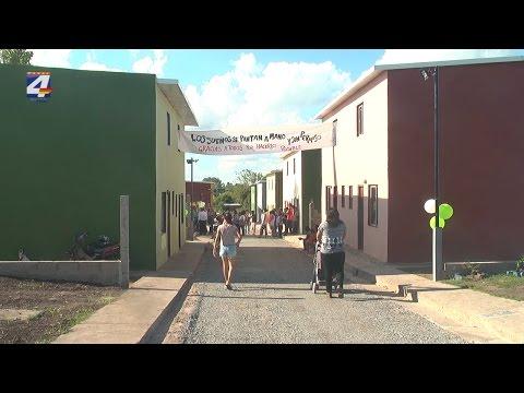 Inauguraron 20 viviendas del Plan Juntos en Paysandú