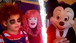 Fiesta infantil del chuky (Invitado Miky Mouse)