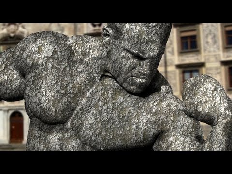 How to Transform Someone into a STONE STATUE in Photoshop