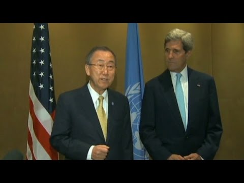 un - The U.S. and U.N. have announced that all parties have agreed to a three-day unconditional cease-fire in Gaza.