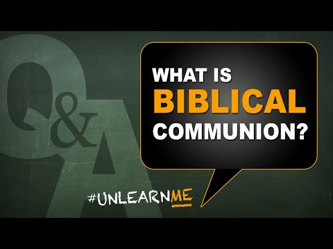 What is Biblical Communion? Are communion and Passover the same? Q&A