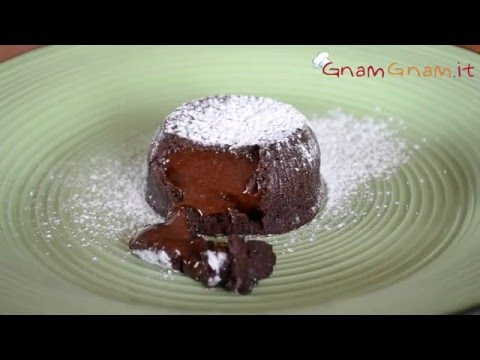 tortino al cioccolato con cuore morbido - la videoricetta