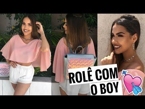 ARRUME SE COMIGO: ROLÊ COM O BOY !