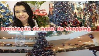 Kinoplex - Decoração de natal do top shopping   saindo da prova do Enem e passei no shopping