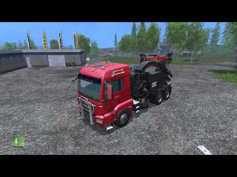 TGA 28.350 Jenz mobile chipper v1.1