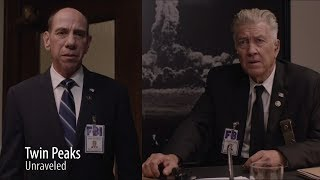 The glass box, the one arm man, left, left, left, more noises, cryogenics, and more in this episode of Twin Peaks Unraveled..PJG Productions produces Short Films, Film Analysis, Poetry Readings, Skits, and Serials.  We love film and like to explore it's formats.http://www.youtube.com/channel/UCzEUUJP-1bMZE1V0s085Snwhttp://www.facebook.com/pjgproductionshttp://twitter.com/alignyourworldshttp://www.patreon.com/pjgproductions