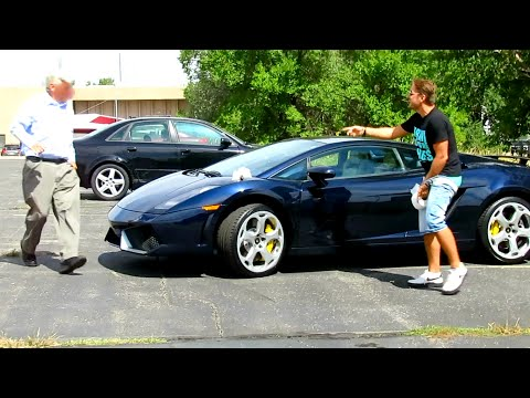 Poop on Lamborghini Prank Gone HORRIBLY WRONG!