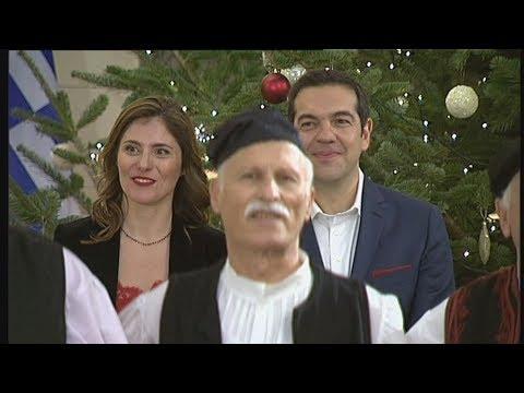 Κάλαντα της Πρωτοχρονιάς στον Πρωθυπουργό  από τους Μερακλήδες Άρτας