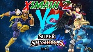 XSmash 2 – Max Ketchum (Falcon) vs Nairo (Dark Pit/ZSS)