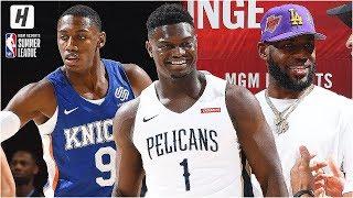 New Orleans Pelicans vs New York Knicks - Full Game Highlights   July 5, 2019 NBA Summer League