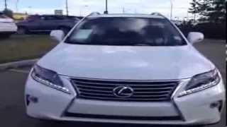 New White 2014 Lexus RX 350 Touring Package Review