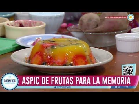 Alimentos buenos para la memoria y alimentación