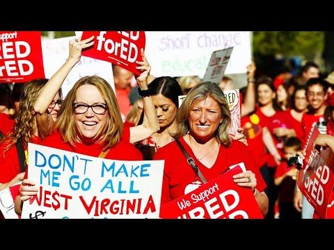 Arizona Teachers Vote To Walk