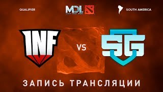 Infamous vs SG-eSports, MDL SA, game 3 [Lex, Autodestruction]