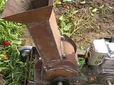 Самодельный садового измельчителя веток