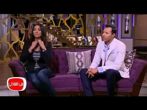 زوجة أحمد فهمي تروي لمنى الشاذلي تحكماته قبل الزواج