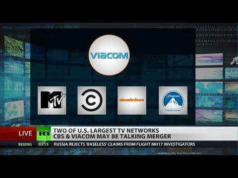 CBS, Viacom Discuss Multibillion-dollar Merger