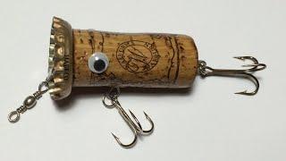 Video How To Make Topwater Lure From Wine Cork(4)DIY Fishing Hacks - Cách Làm Lure Nút Chai MP3, 3GP, MP4, WEBM, AVI, FLV Agustus 2018