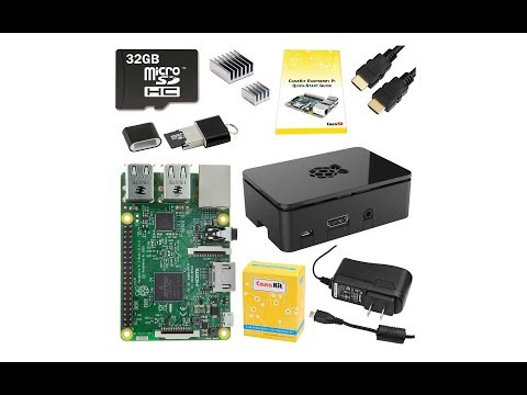 CanaKit Raspberry Pi 3 Complete Starter Kit - 32 GB Edition Unboxing & Review