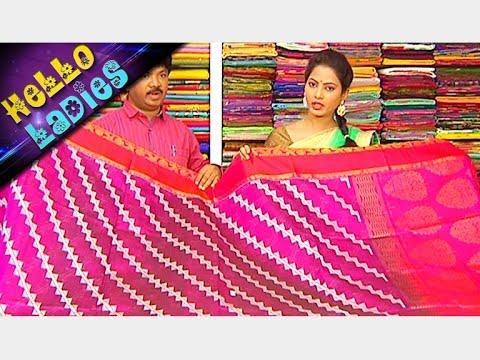 Latest-Collections-of-Pattu-and-Pure-Zari-Kota-Sarees-Hello-Ladies-Vanitha-TV-06-03-2016