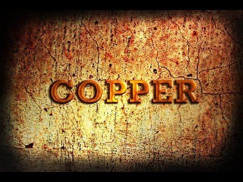 Copper Metal Text In Photoshop