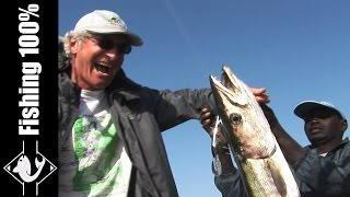 Fishing Barracudas in Bijagos Islands part of Guinea-Bissau - Ep 1 - Subscribe here for more videos : http://goo.gl/W09NGU En...