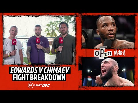 Leon Edwards v Khamzat Chimaev preview | Open Mat fight breakdown