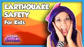 Earthquake Safety for Kids, What to Do in an Earthquake