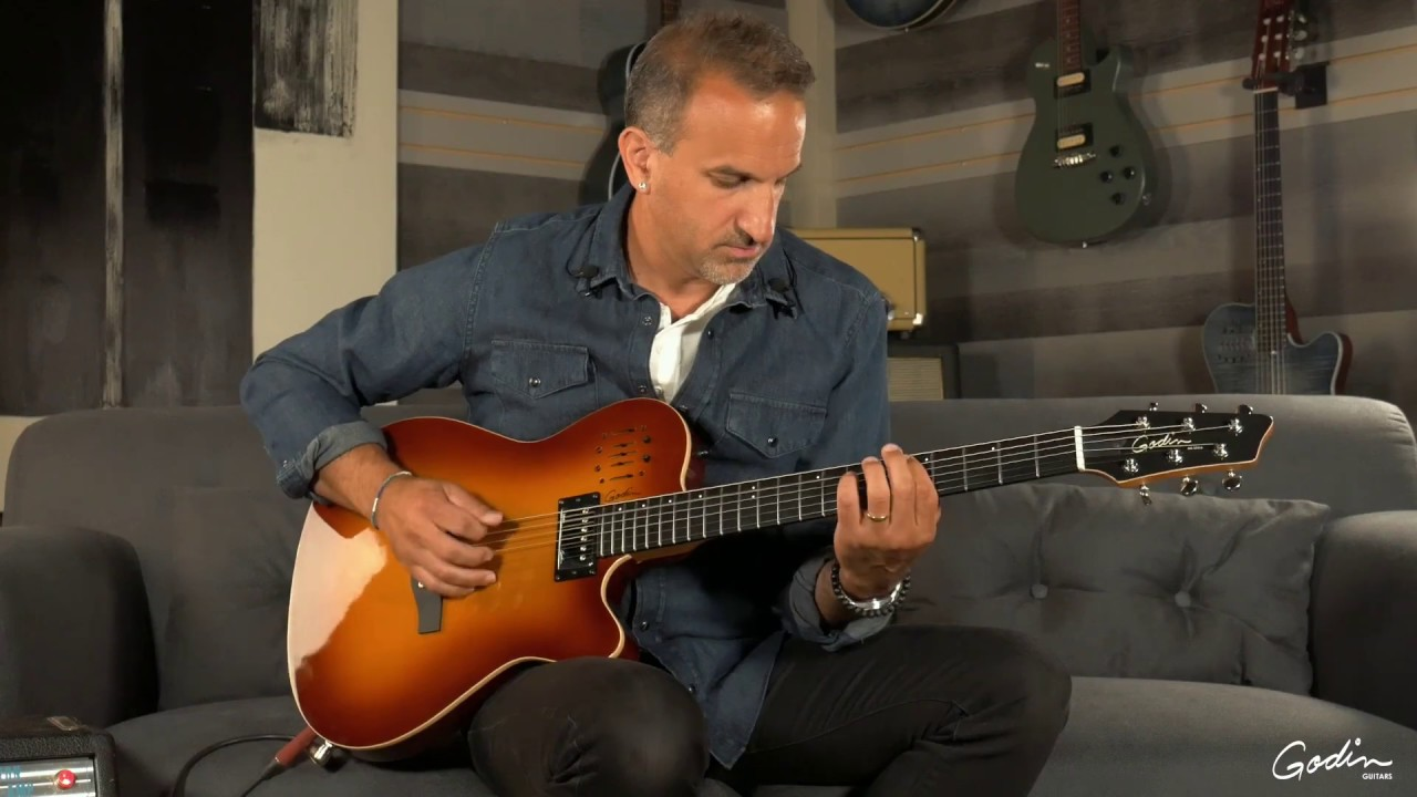 Our Most Versatile Semi-Acoustic Guitar: How to Use the Preamp on Our Godin A6 Ultra