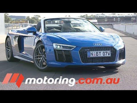 2017 Audi R8 Spyder Review | motoring.com.au