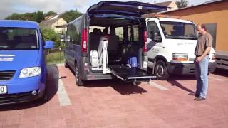 Elektrohydraulická plošina - MB 001 ve voze OPEL Vivaro