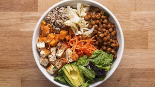 Protein-Packed Buddha Bowl by Tasty